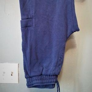 Athletic Works Boys Blue Cargo Sweatpants (14-16)